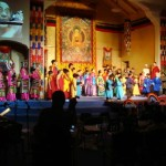 Theater Magic production of the life of the Dalai Lama at Living Wisdom in Palo Alto, California
