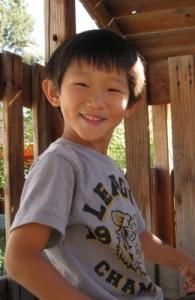 boy smiling at living wisdom school, a PreK-8 private school in palo alto, california