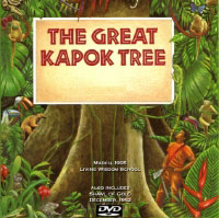 Poster for the play The Great Kapok Tree, at Living Wisdom School in Palo Alto, California