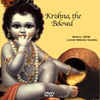 Poster for the play Krishna, The Beloved