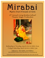 Poster of the play Mirabai Mystic Poet Saint of India