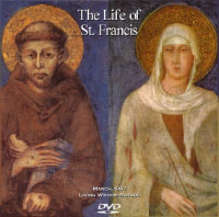 Poster for the play The Life of Saint Francis, at Living Wisdom School in Palo Alto, California