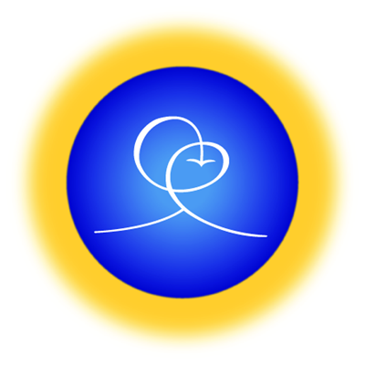 The logo of Living Wisdom School, a private PreK-8 school in Palo Alto, California.