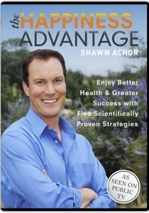 Shawn Achor, author of The Happiness Advantage